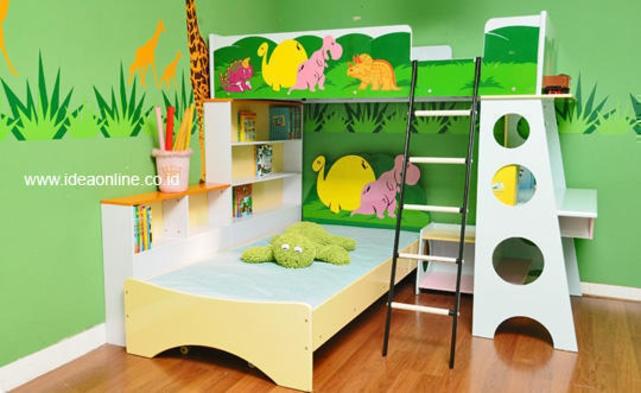 Hmm.. Sweet Green Bedroom!