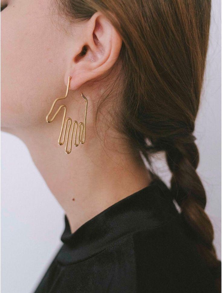 Hand Earrings :)