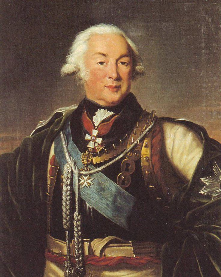 Field Marshal Count Ivan Petrovich Saltykov (1730-1804), 1800, location unknown