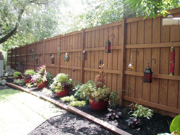 Pinterest Backyard Ideas 51 budget backyard diys that are borderline genius Backyard Fence Color Home Depot Beher Semi Transparant Fence And Deck Stain