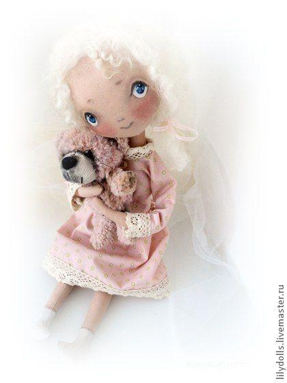 Коллекционные куклы ручной работы. Ярмарка Мастеров - ручная работа Кукла с историей - Соня. Handmade.