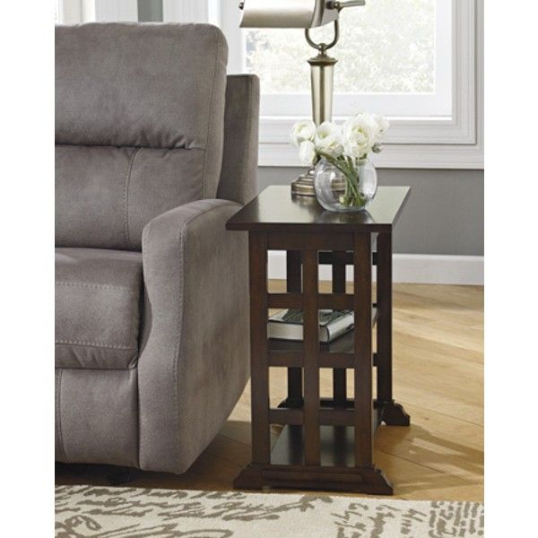 Braunsen Chair Side End Table - Brown - (Set of 1) - T017-477 by Ashley Furniture Signature Design