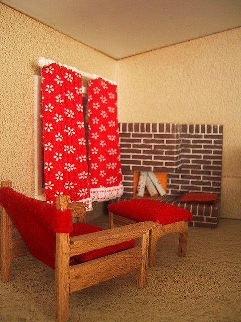 Vintage Lisa dolls house nook | Flickr - Photo Sharing!