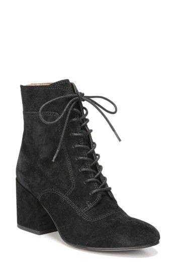 1930s Style Shoes – Art Deco Shoes Womens Sarto By Franco Sarto Aldrich Bootie Size 11 M - Black $158.95 AT vintagedancer.com