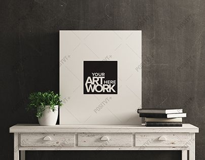 """Check out new work on my @Behance portfolio: """"Canvas Mockup White Wood Distressed Console Table"""" http://be.net/gallery/50859261/Canvas-Mockup-White-Wood-Distressed-Console-Table"""