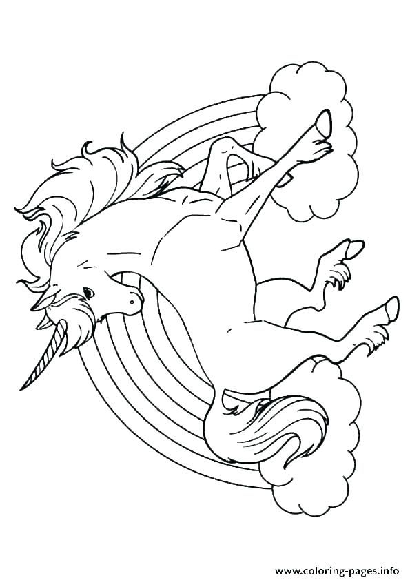 Cute Unicorn Coloring Pages Printable To Print For Kids Printable