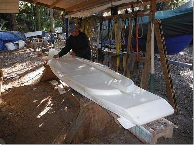 Duckworks - More Foam Boats   foam boat in 2019   Boat building, Wooden boat building, Boat plans