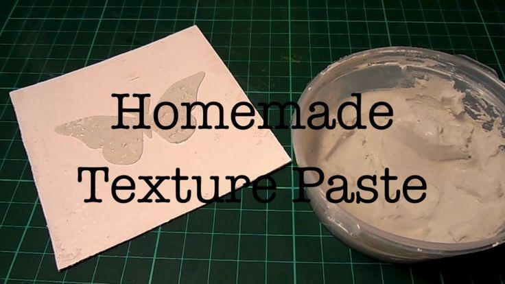 Текстурная Паста Своими Руками/ Homemade Texture Paste