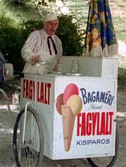 """Bagaméri, az """"elátkozott"""" fagylaltos (Alfonzó) - a Keménykalap és krumpliorr című tévésorozatból"""