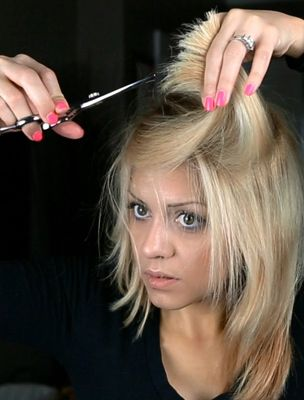 How to Cut Your Own Hair: Step Number One: (And this is CRITICAL to getting it right!): DO NOT CUT YOUR OWN HAIR.