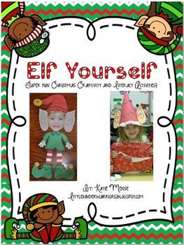 "Your students will have sooooo much fun ""Elfing Themselves""! It will make the magic of Christmas come to life in your classroom!"