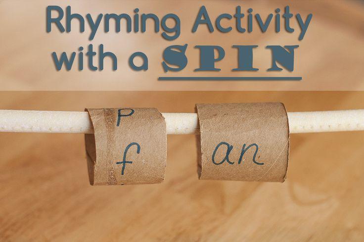 No cost Rhyming Activity