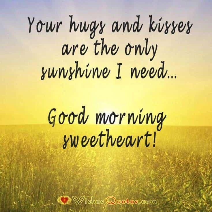 Bright Good Morning Quotes Good Morning Texts Morning Love Quotes