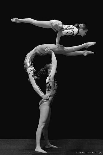 Acrobatic Gymnastics - partner-acro Photo
