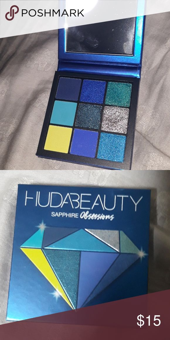 Huda magnificence sapphire obsessions Used twice. Plenty of life left! Blue simply isn&#39…