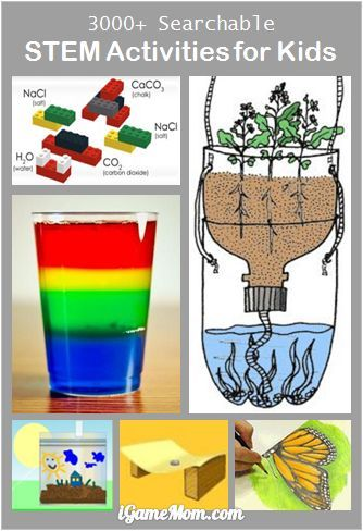 Free App: Over 3000 Searchable STEM Activities for Kids