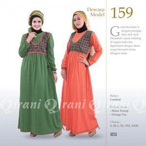Baju Gamis Qirani Modis Model 159 Terbaru http://distromuslimah.net/baju-gamis-qirani-modis-model-159-terbaru/