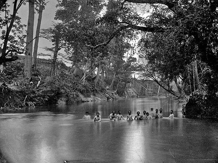 Soldiers bathing in the Rappahannock River in Fredericksburg, VA: American Civil War, History, Soldiers Bath, War 1861 1865, Civil War Photos, War Soldiers, Rappahannock Rivers, Civil War Not, War Era