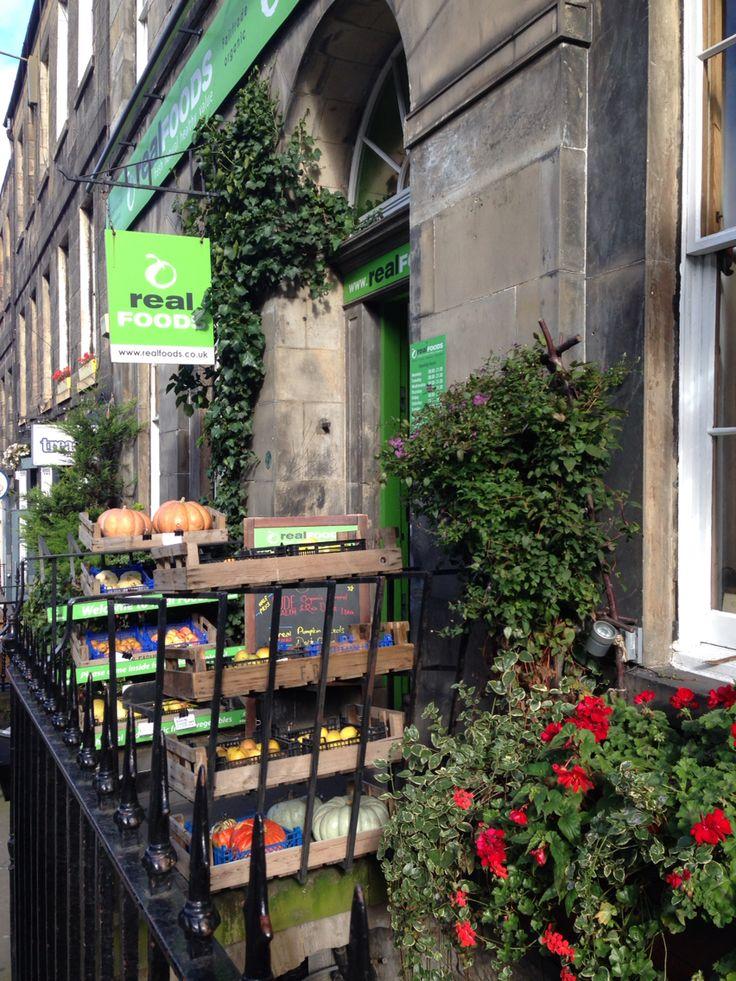 Real Foods, Edinburgh.