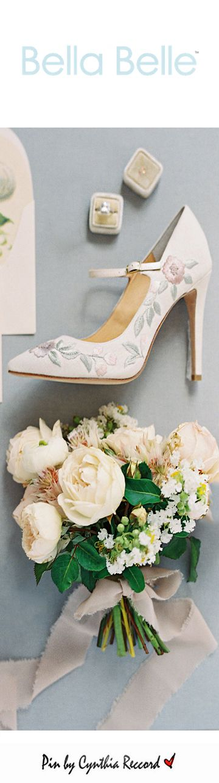 Bella Belle | Enchanted | SS 2017 | cynthia reccord | wedding shoes heels dreamy tulle bridal heels