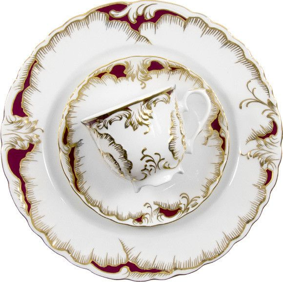 This Stunning set would make the perfect Wedding Gift.  C'mon Parents!  Rococo Fine China/Porcelain Set for 12 People – Gifts by Kasia