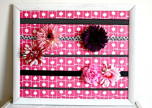 Hairbow organizer: Hairs Bows Holders, Hairs Clips, Hairbow Holders, Diy'S Headbands, Hairbow Organizations, Girls Hairs, Bows Organizations, Hairs Accessories, Headbands Holders