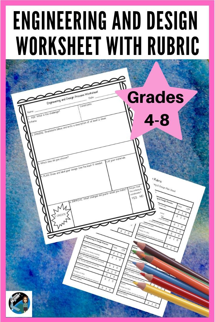medium resolution of Do your students love STEM challenges? This one page worksheet helps  students document …   Engineering design process