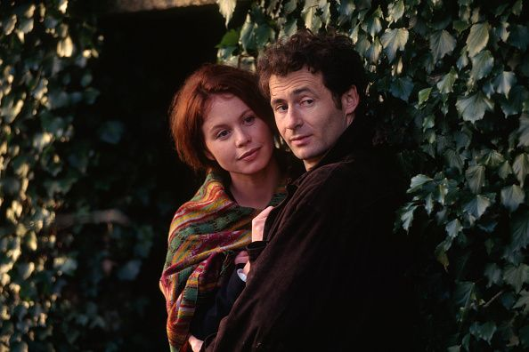 French Actress Carole Richert and Actor Daniel Rialet