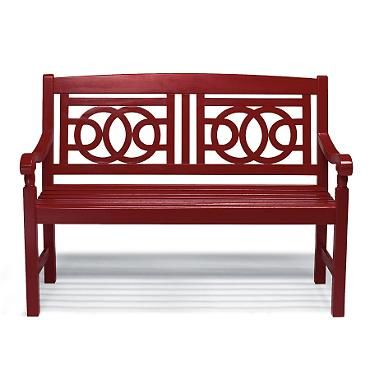 Amalfi Bench - other colors too. Front porch?