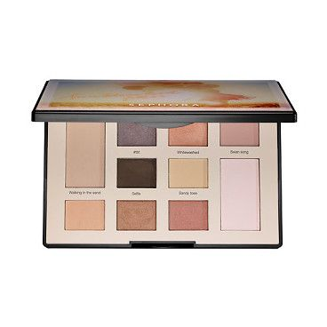 colorful eyeshadow filter palette sunbleached filter by SEPHORA COLLECTION. A palette featuring 10 wearable shades inspired by photo filtering effects. Editing software is a...