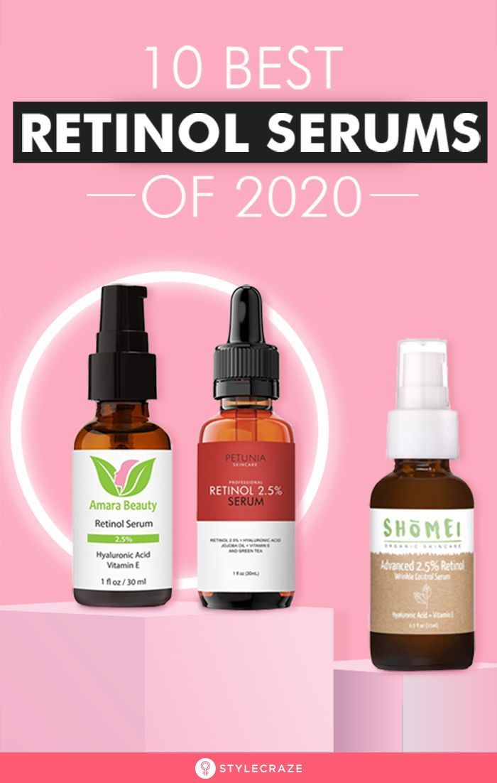 10 Best Retinol Serums Of 2020 In 2020 Retinol Serum Retinol Skin Plumping