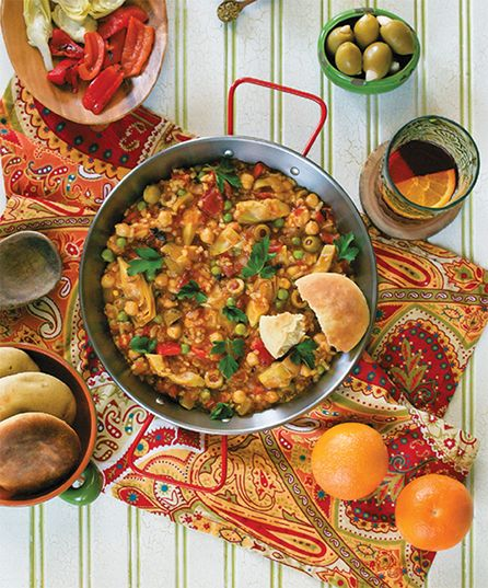 Paella from the Pantry from Cook the Pantry by Robin Robertson