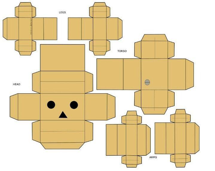 Danbo robot template