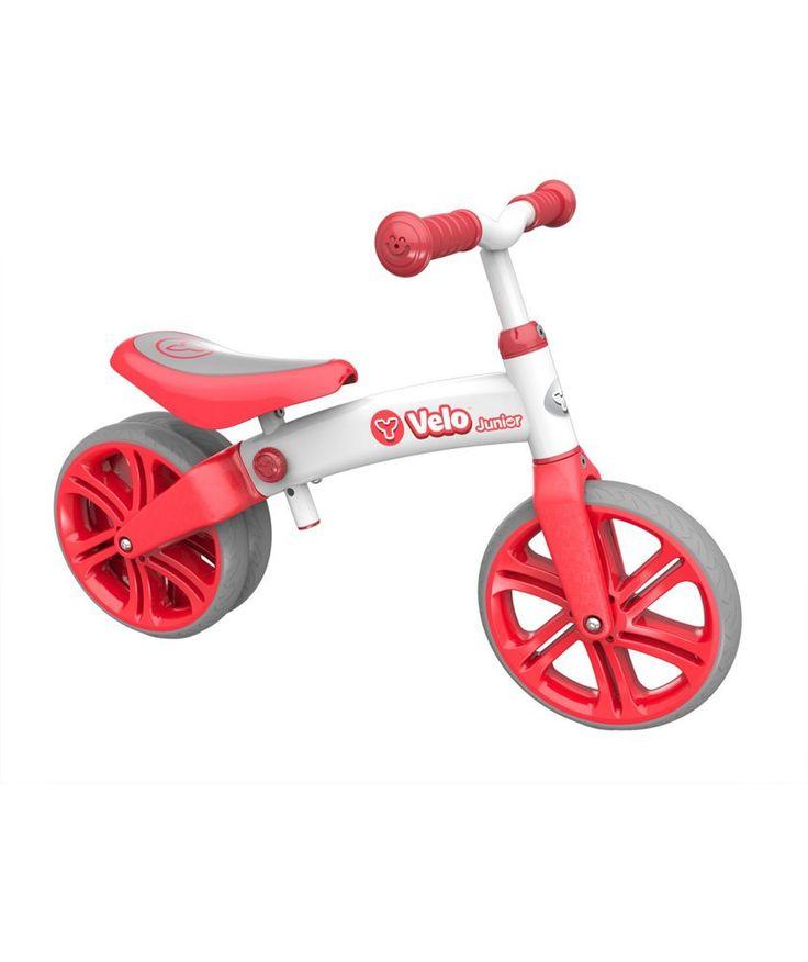 Buy Yvolution Velo Junior Balance Bike Red at Argos.co.uk - Your Online Shop for Children's bikes, Children's bikes.