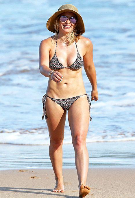 Hilary Duff Shows Off Toned, Slimmed-Down Bikini Bod in Hawaii: Photos - Us Weekly