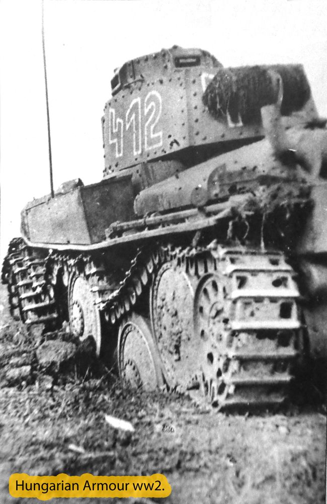 Hungarian pz 38t rolled on mine in the front of Don. Russia 1942. summer.