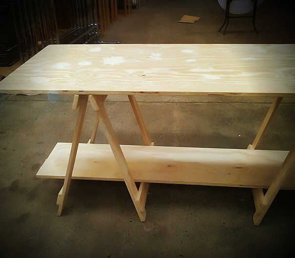 Hire wooden trestle tables for any event.
