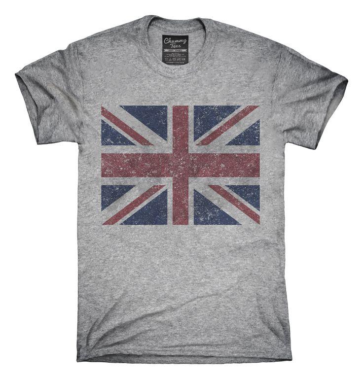 Union Jack T-Shirts, Hoodies, Tank Tops
