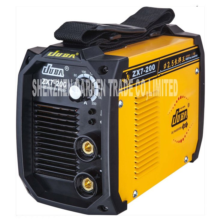 New Portable Welder IGBT Inverter Portable Welding Machine  Arc Welder with Electrode Holder And Earth Clamp ZX7-200 5.5KW 220V