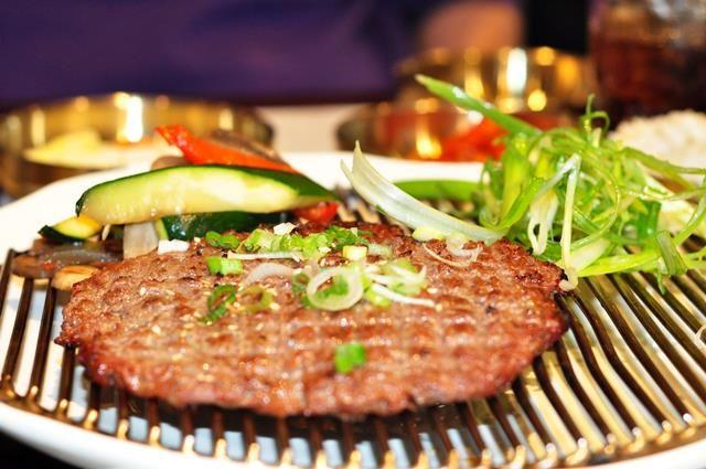 Myung Dong Noodle House Fort Lee Korean Food JenCooksKorean 's review kalguksu bulgogi