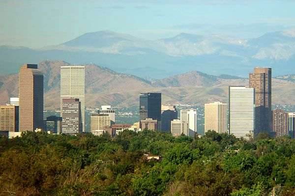 Denver, Co. The first time I had ever flown was with my husband, Wes, to Denver to see Kelly and Erica.