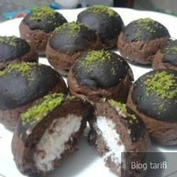 Çikolatalı Cocostar Kurabiye www.afiyetle.com