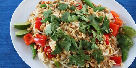 Vegetable Pad Thai Recipes   Food Network Canada