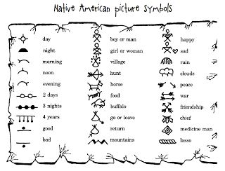 Native American Symbol for Love | ... some great symbols to use for decorating the vests or for your stories