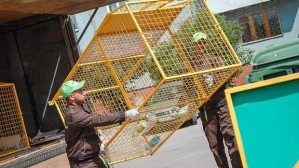 В Кемерове установили контейнеры для сбора пластика