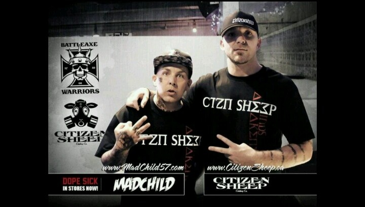 Citizen sheep clothing and baxwar. Represent!