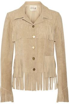 Illia Fringed suede jacket | THE OUTNET