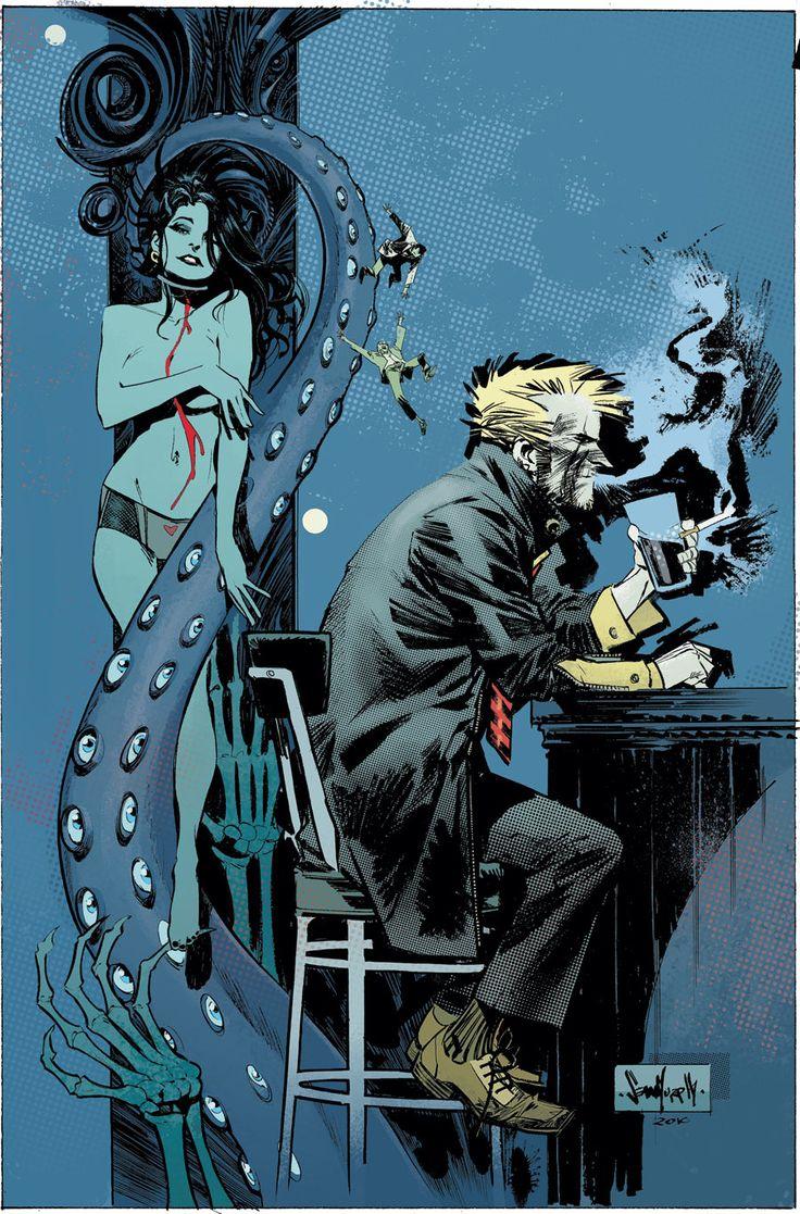 John Constantine, Hellblazer: City of Demons #5 by Sean Murphy.