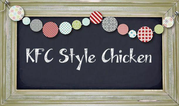 Love Beauty Fashion Etc..: Syn Free KFC Style Chicken |Slimming World