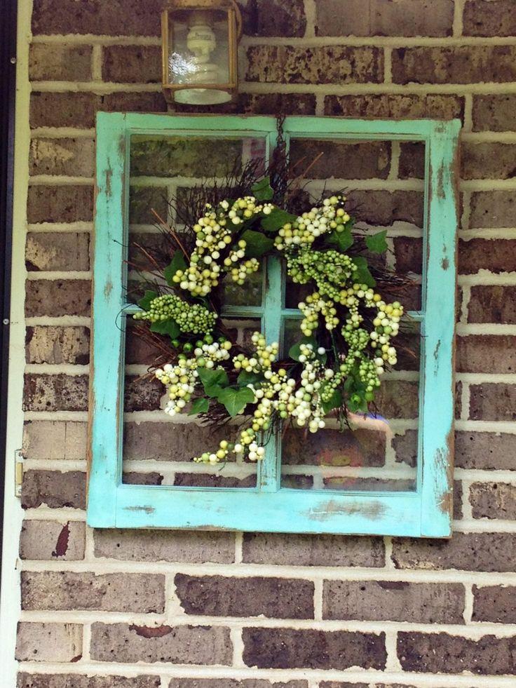 Old windows DIY style!